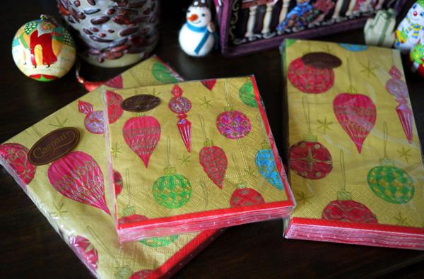 今年のCaspari(カスパリ)のクリスマス商品が届きました。