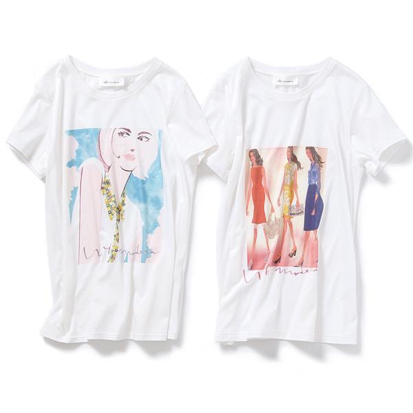 「wb modera」とマサキリョウのコラボTシャツできました!