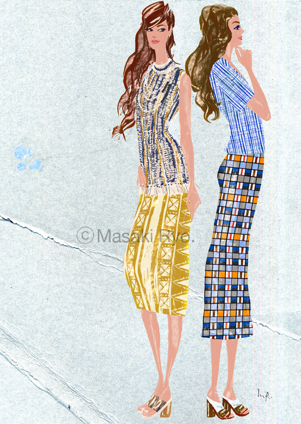 Tory Burch | Spring 2015 Ready-to-Wear (my personal work)
