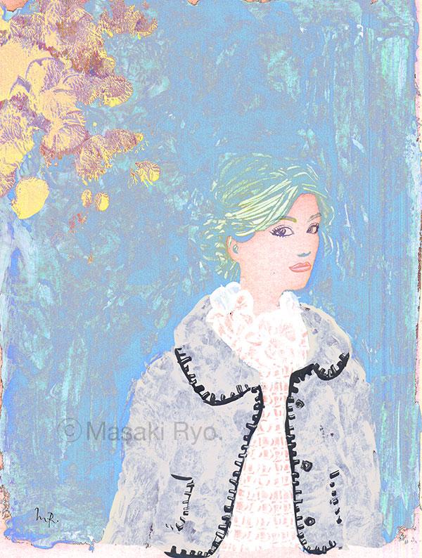 Alberta Ferretti | Fall 2015 Ready-to-Wear (my personal work)