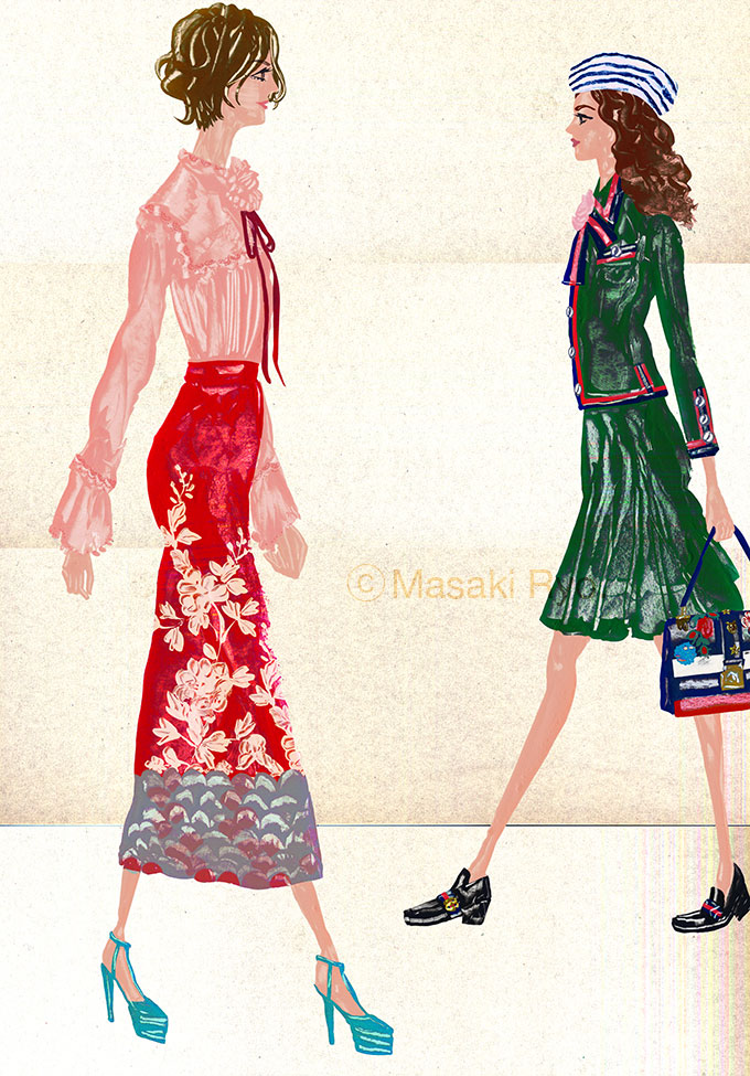 Gucci / Spring 2016 Ready-to-Wear (my personal work)