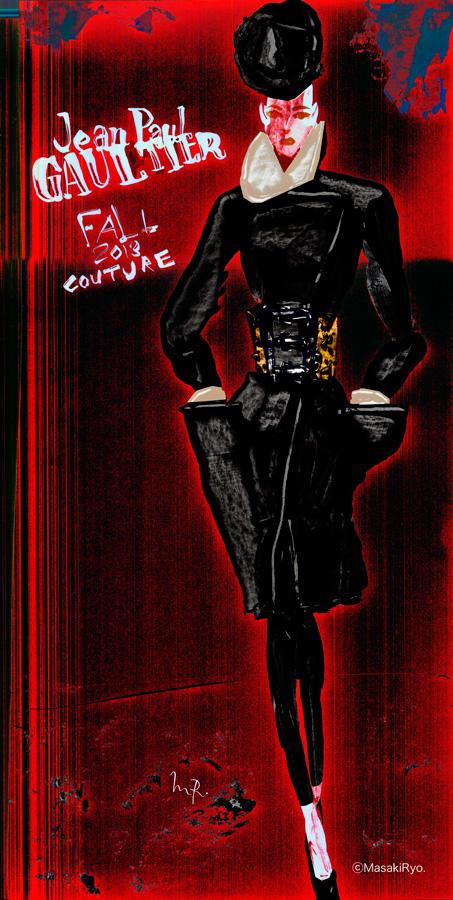 2013秋冬パリオートクチュールコレクションから -Jean Paul Gaultier-1
