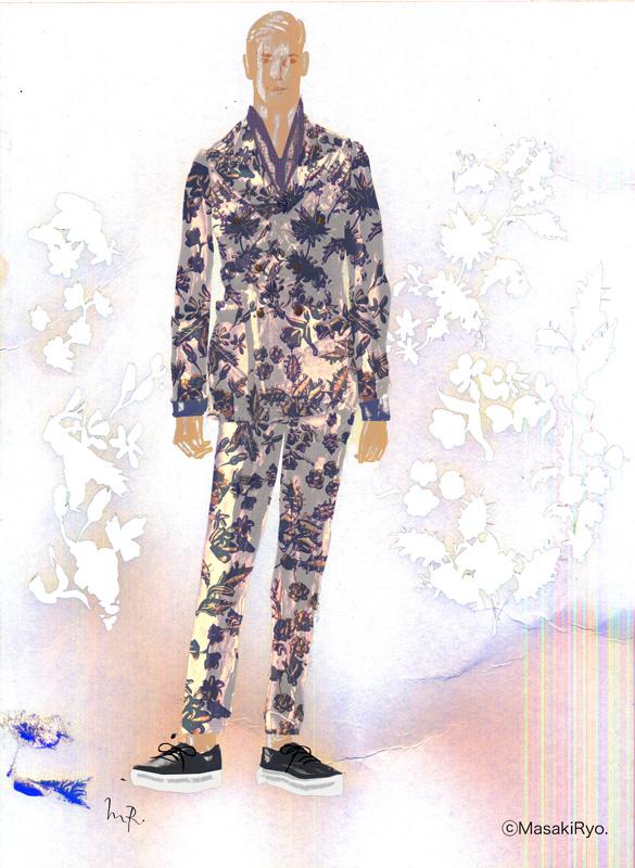2014 春夏メンズコレクションから – Gucci  グッチ