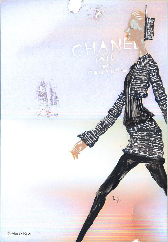 2013秋冬パリオートクチュールコレクションから – CHANEL シャネル