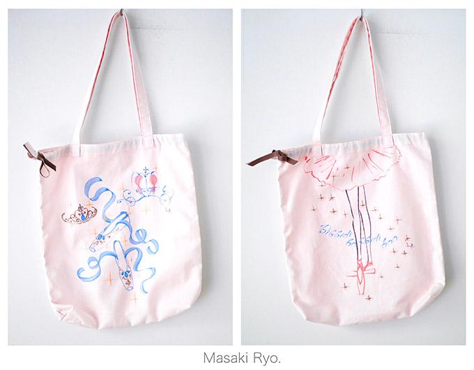 チャコット トートバッグ 販売中 – Chacott Artist Tote Bags –