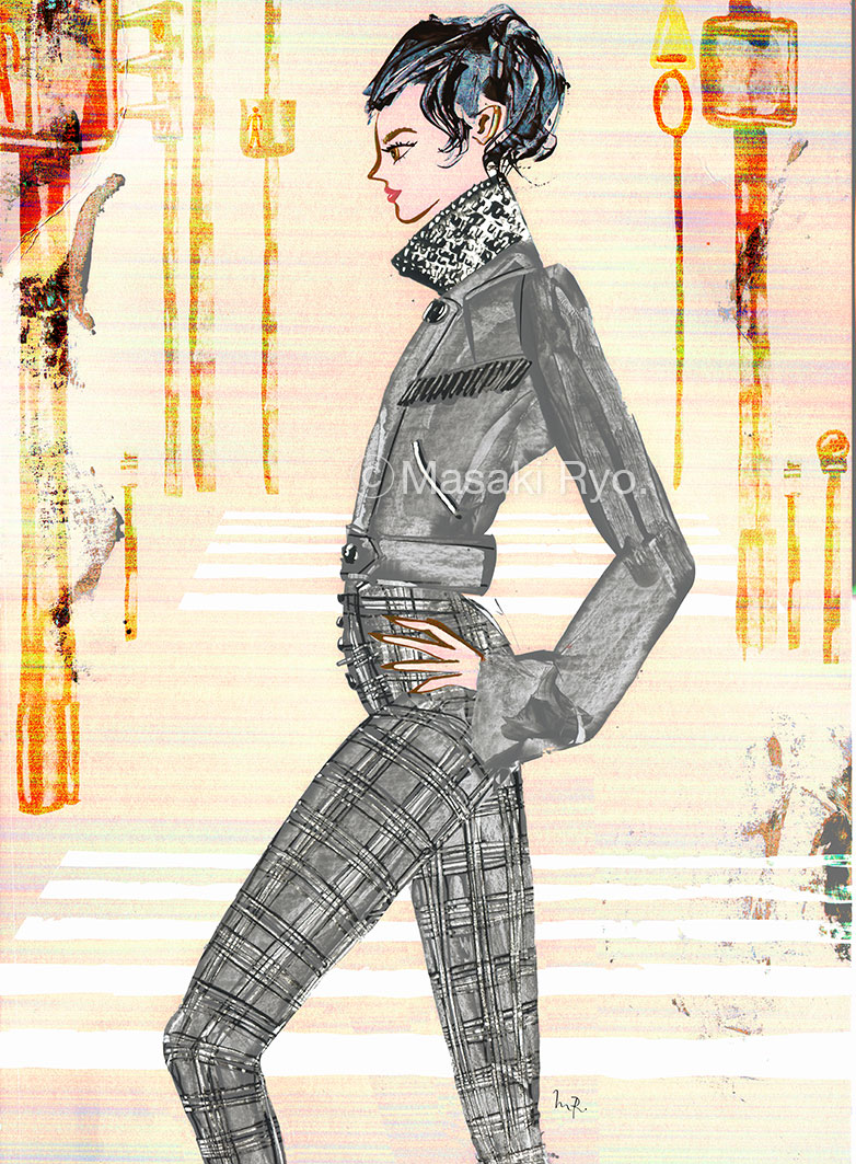 Alexander Wang / Fall 2017 Ready-to-Wear (my personal work)