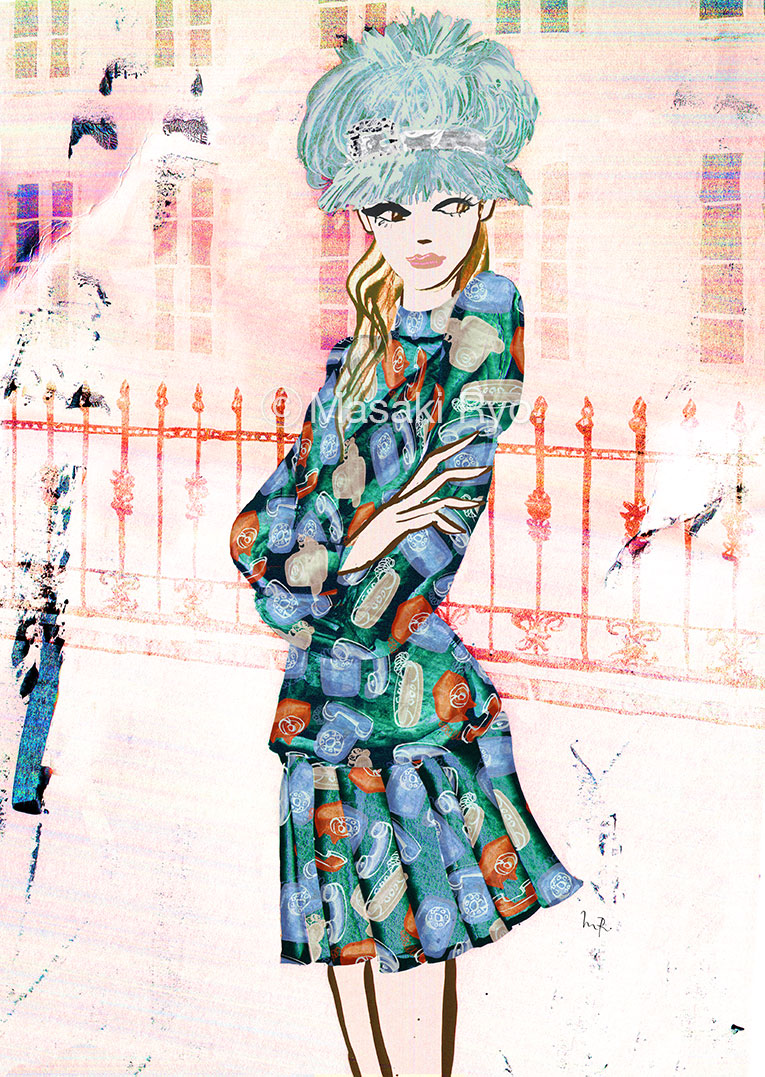 Miu Miu / Fall 2017 Ready-to-Wear (my personal work)