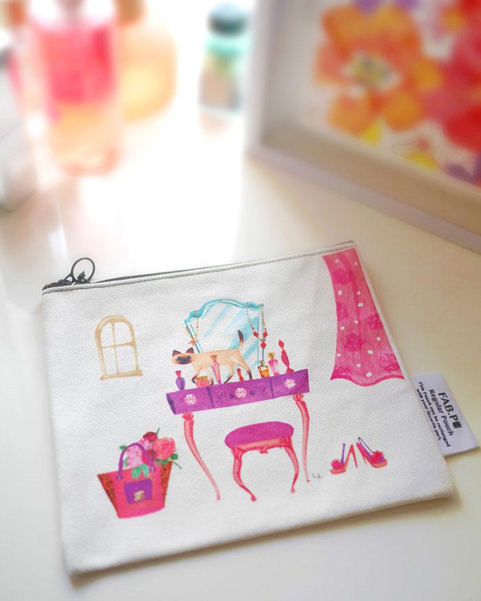 Fabpoファブポポーチのイラスト Masaki Ryo Illustrator